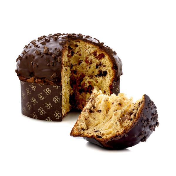 panettone pere e cioccolato di modica